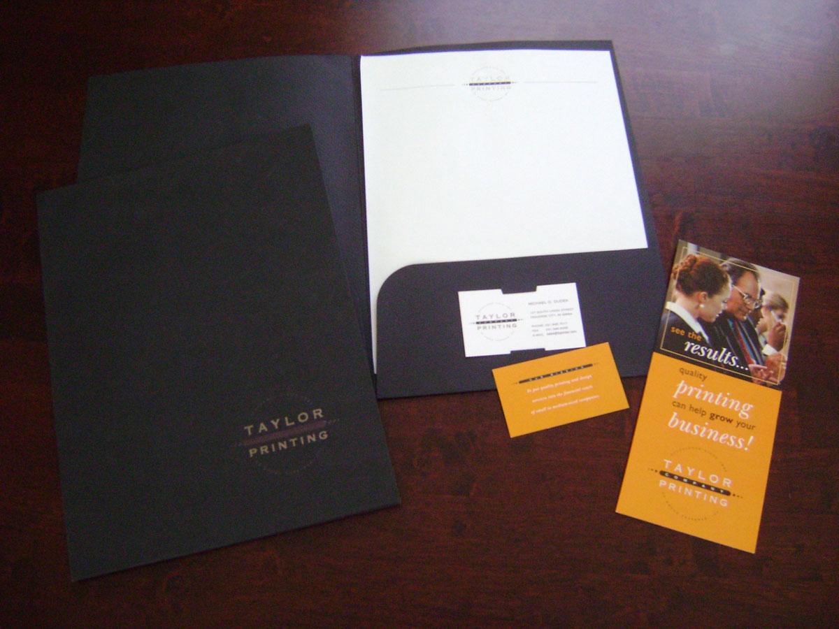 Business Cards, Letterhead & Pocket Folders