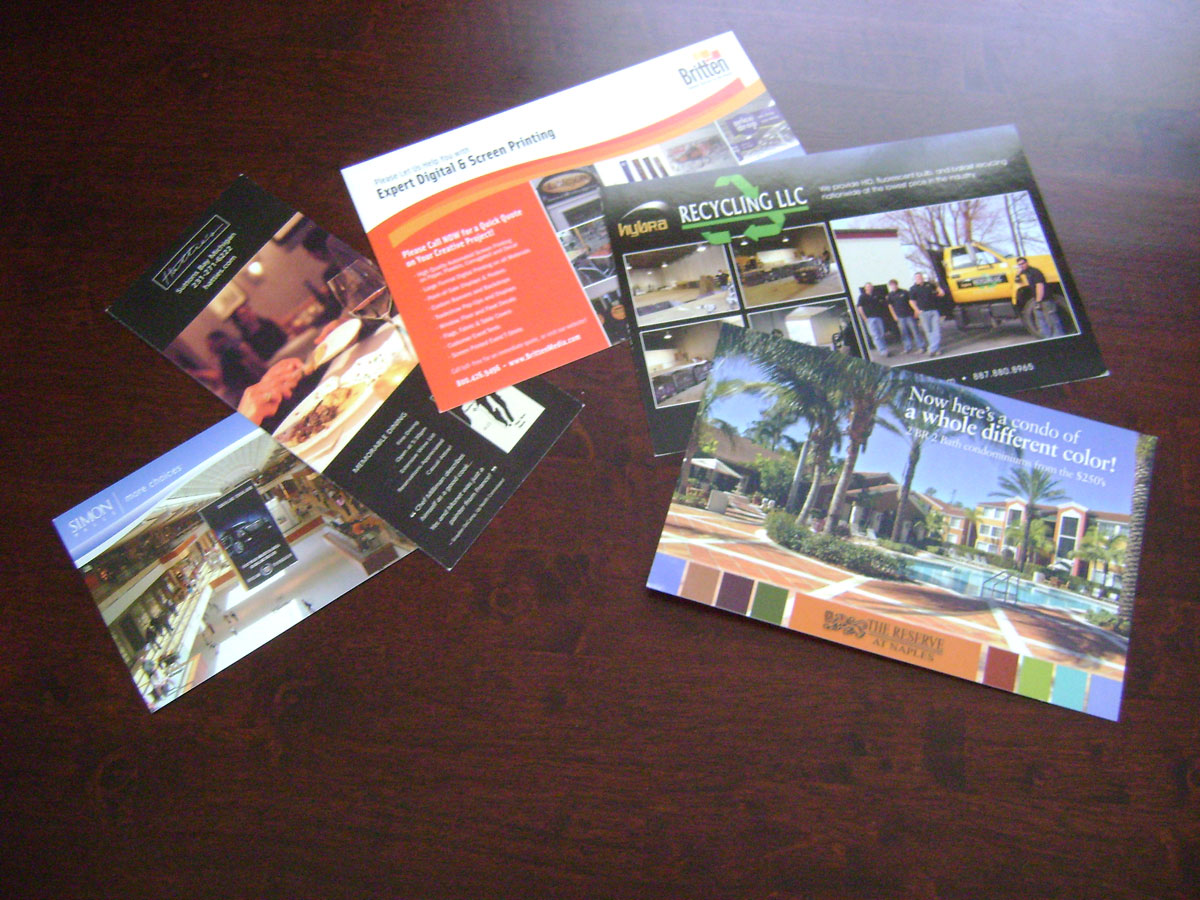Postcards & Direct Mailers
