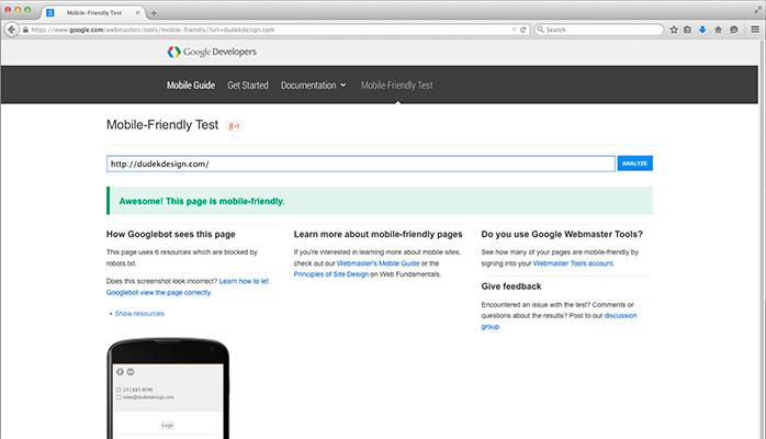 Google's Mobile-Friendly Ranking Algorithm