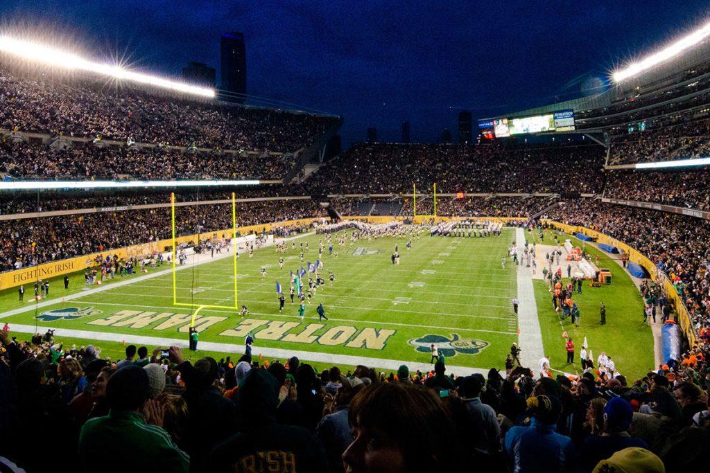 Notre Dame Shamrock Series
